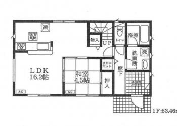 1F 室内図面