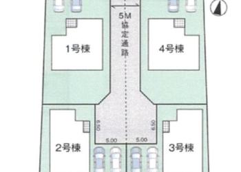 グラファーレ 大山 区画図