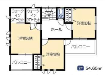 2号棟 2F室内図面