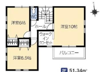 5号棟 2F室内図面