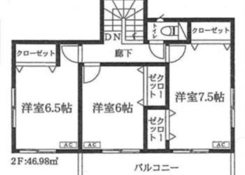 2F 室内図面